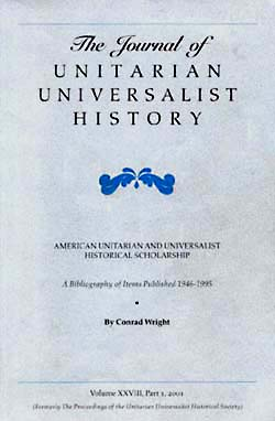 Journal of Unitarian Universalist History v3 2001