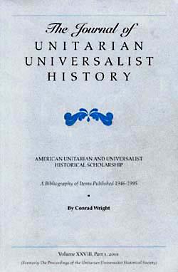 Journal of Unitarian Universalist History v3 2001